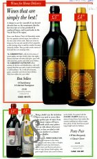 image HO-11-1-2-103 Marketing leaflet, wines for home delivery