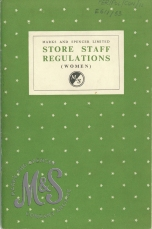 image E6-1-33 Store Staff Regulations women 1956