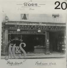 image P2-30-69 Weston-Super-Mare 57 High Street 1918-1919