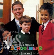 image HO-11-1-17-7 Marketing leaflet, schoolwear
